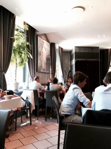 Toques du coin plat du jour Strasbourg restaurant place de Bordeaux salle