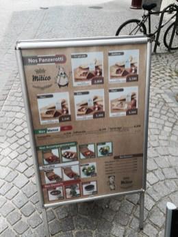 Mitico Strasbourg Grand rue stradafood restaurant italien
