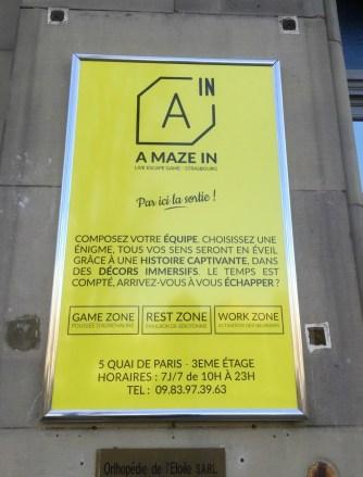 A MAZE IN Strasbourg live escape game