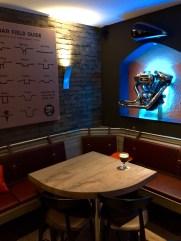 Tony's Kitchen Strasbourg pizzeria restaurant Harley moto