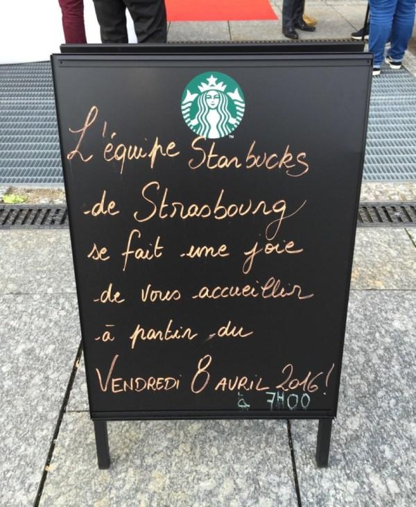 Strasbourg STARBUCKS Aubette place KLEBER