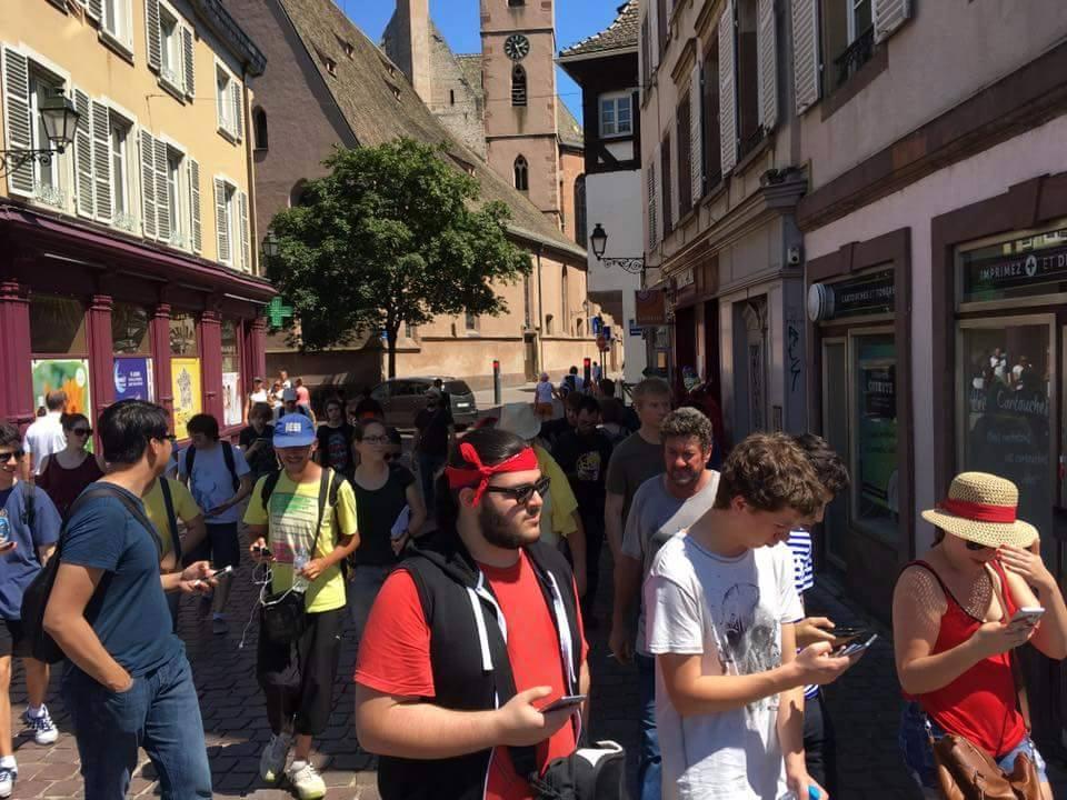 Pokemon Go Strasbourg Alsace
