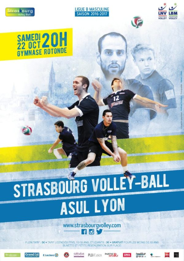 Maxime Meyer volley ball Strasbourg