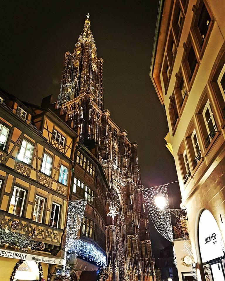 marché de Noël de Strasbourg cathédrale