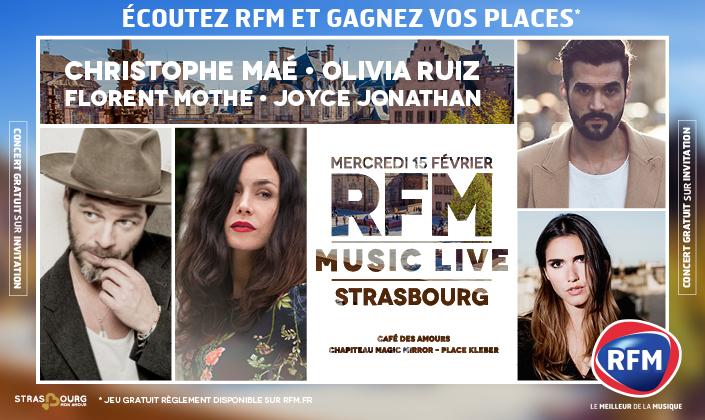 RFM MUSIC LIVE STRASBOURG