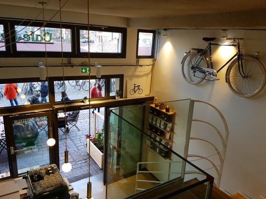 Le Maquis café vélo Strasbourg Place Austerlitz Alsace