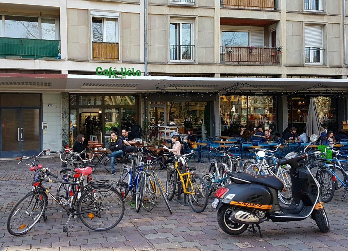 Kapoué test n°121: le Maquis, café-vélo Place d'Austerlitz à Strasbourg