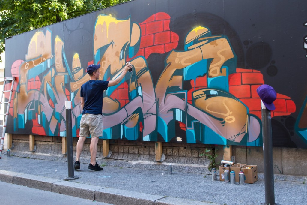 Primark Strasbourg street art quai Kellerman rue du noyer shopping