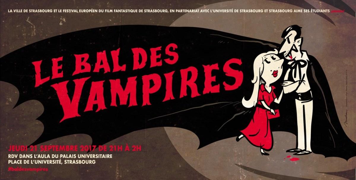 Venez danser au Bal des Vampires au Palais Universitaire !