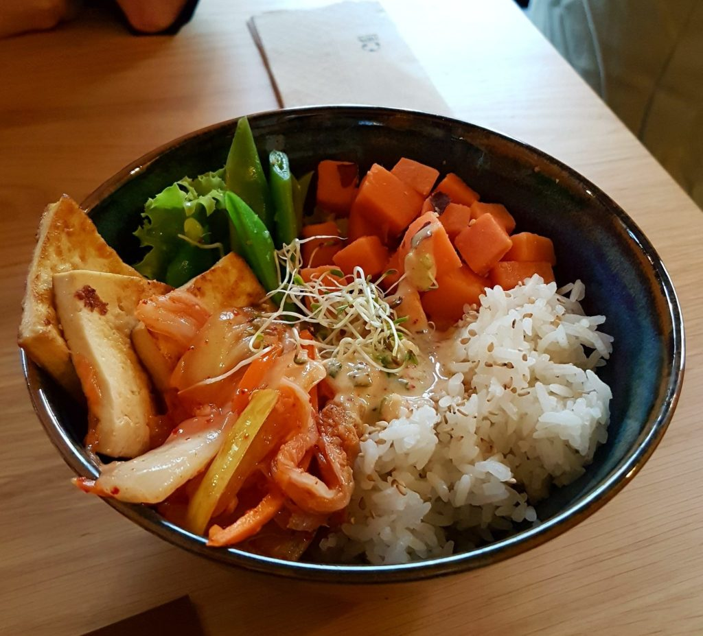 Harmonie bowl and juice Strasbourg restaurant place saint Etienne vegan