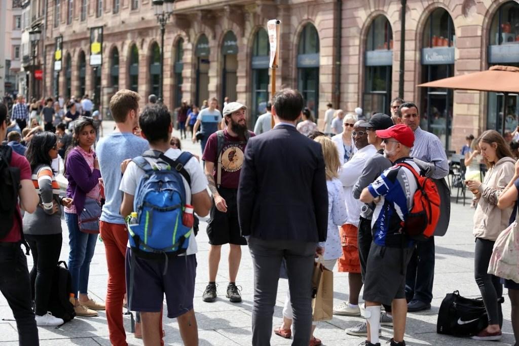 Free tours Strasbourg guide tourisme Alsace Gabriel