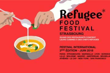 Strasbourg Refugee Food Festival juin 2018