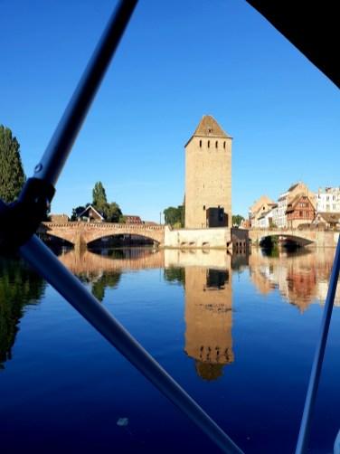 Marin d'eau douce Strasbourg Alsace bateau marin d'eau douce électrique Ill Petite France