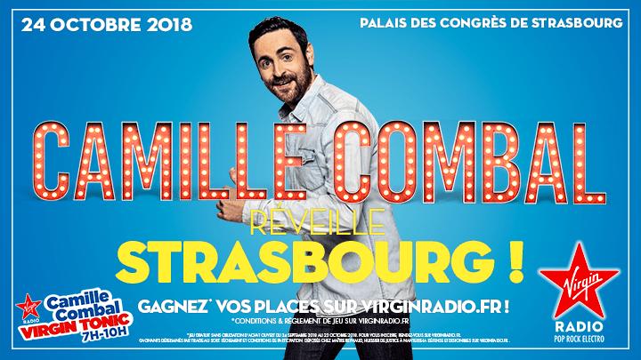 Concours: Gagnez vos places pour la venue de Camille Combal de Virgin Radio à Strasbourg !