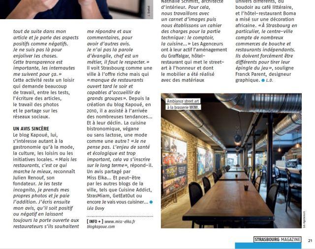 Strasbourg Magazine novembre 2018