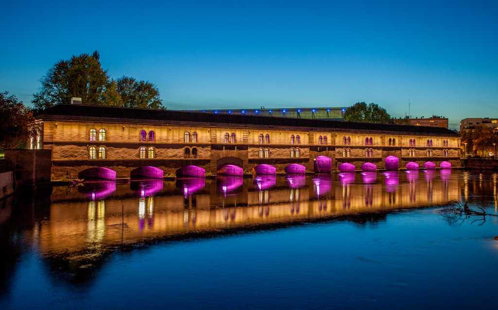 barrage vauban Strasbourg mobilité