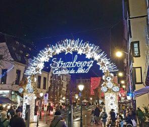 Strasbourg Best European Christmas Market arche