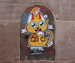 Supacat streetart Strasbourg