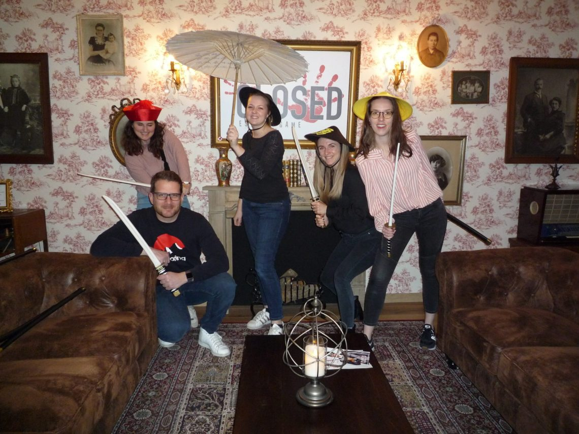 Escape game Strasbourg CLOSED Yakusa Japon