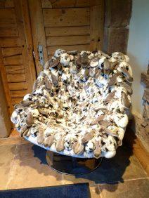 La Garenne Saverne restaurant bar à vins fauteuil lapins