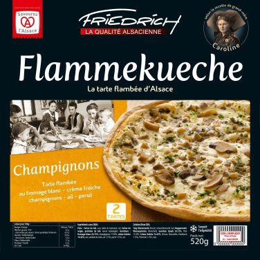 Friedrich Surgelés tarte flambée Alsace recette