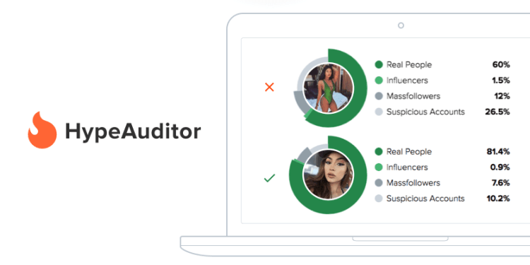 HypeAuditor Instagram analyse rapport fake followers