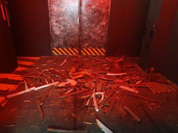 destroy room Strasbourg Dooz Escape game débris