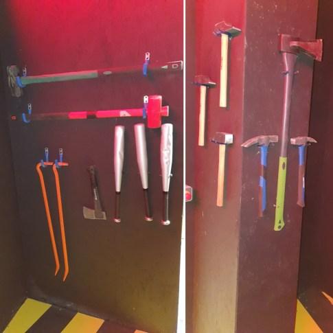 destroy room Strasbourg Dooz Escape game armes