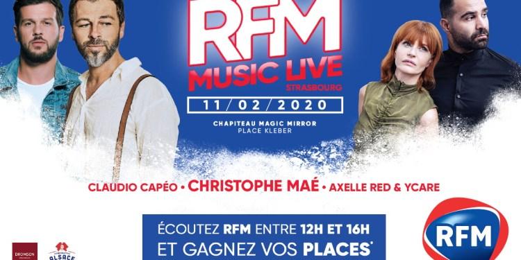 RFM MUSIC LIVE STRASBOURG 2020