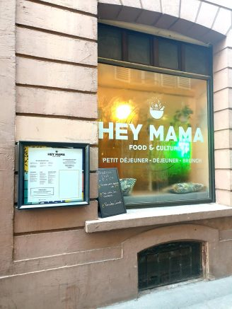 Hey Mama Strasbourg Rue des Pucelles brunch entree