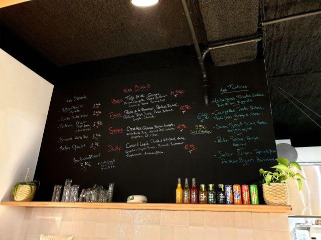 Chez Victor bar à salades sandwichs Strasbourg Tribunal menu