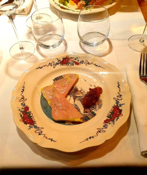 La Vielle Enseigne restaurant alsacien Strasbourg foie gras
