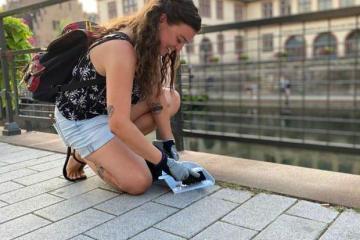 Cleanwalk Strasbourg ramassage ordures dechets centre ville