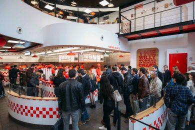 Five Guys Strasbourg restaurant burger
