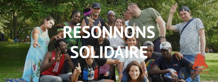 association commerçants solidaires Strasbourg photo groupe