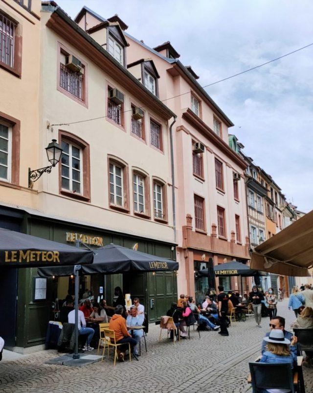 Le Meteor terrasses Strasbourg mai 2021