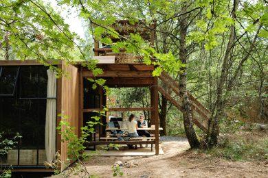 Nutchel cosy cabanes Ardennes Alsace