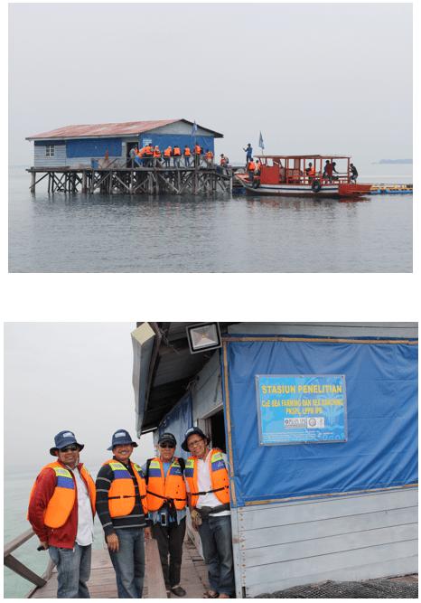 Stasiun Penelitian Balai Sea Farming PKSPL LPPM IPB Karang Congkak