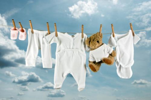 Cara Mencuci Baju Bayi yang baru lahir