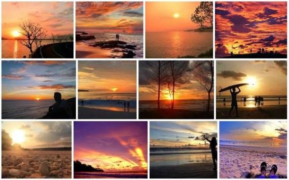 sunset pantai