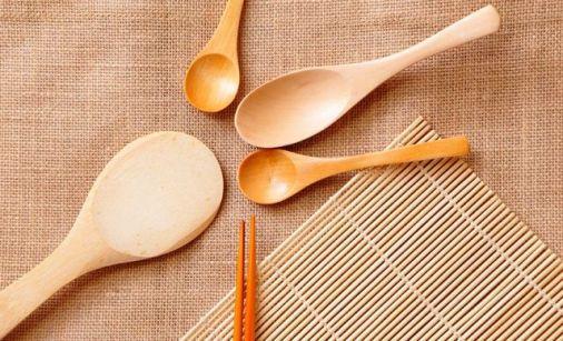 dapur set bambu