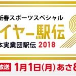 【2018】ニューイヤー駅伝が開催されます【予想】