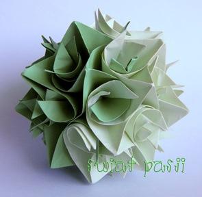 , Origami modułowe – kusudama