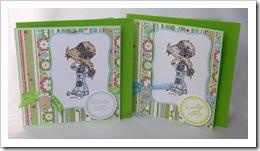 , Wielkanocnie karteczkowo – kolorwane stempelki :)