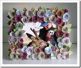 , Dwie pieczenie…. – ramka kwiatowa