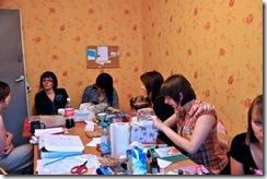 , Spotkanie craftowe warszawianek w Świecie Pasji