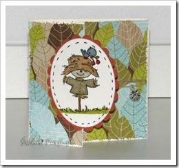 , Rozwiązanie Candy oraz kartka jesienna…