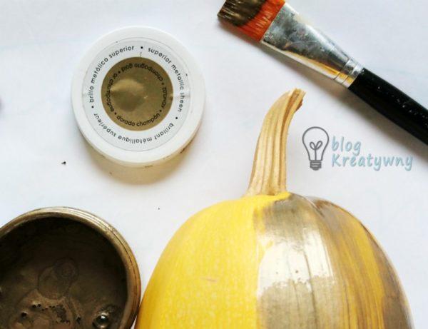 Złocenia i farby metaliczne, Złocenia i farby metaliczne w decoupage