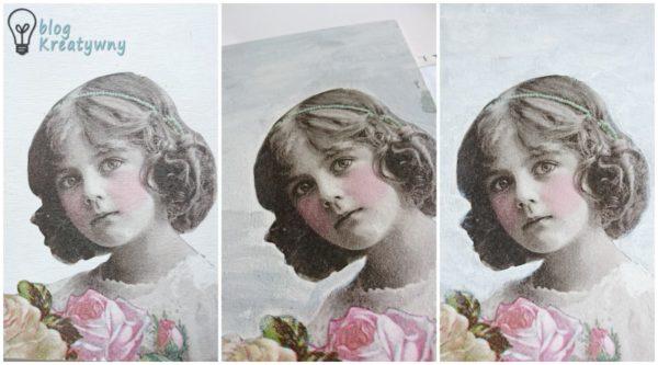 Obrazek decoupage, Obrazek decoupage