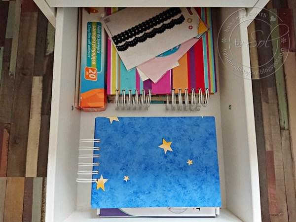 szuflada z wykrojnikami